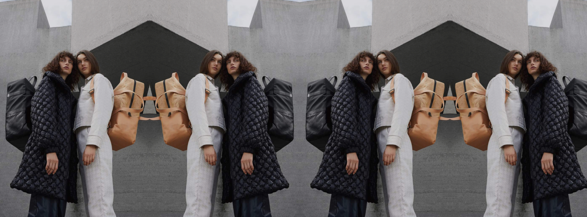 """""""One woman, one bag, two sides to show."""" We'll take you thru both of them with the duo behind Maria Maleta's reversible leather pieces."""